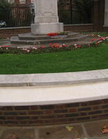 War Memorial restoration, Hampstead